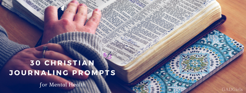 30 Christian Journaling Prompts for Mental Health